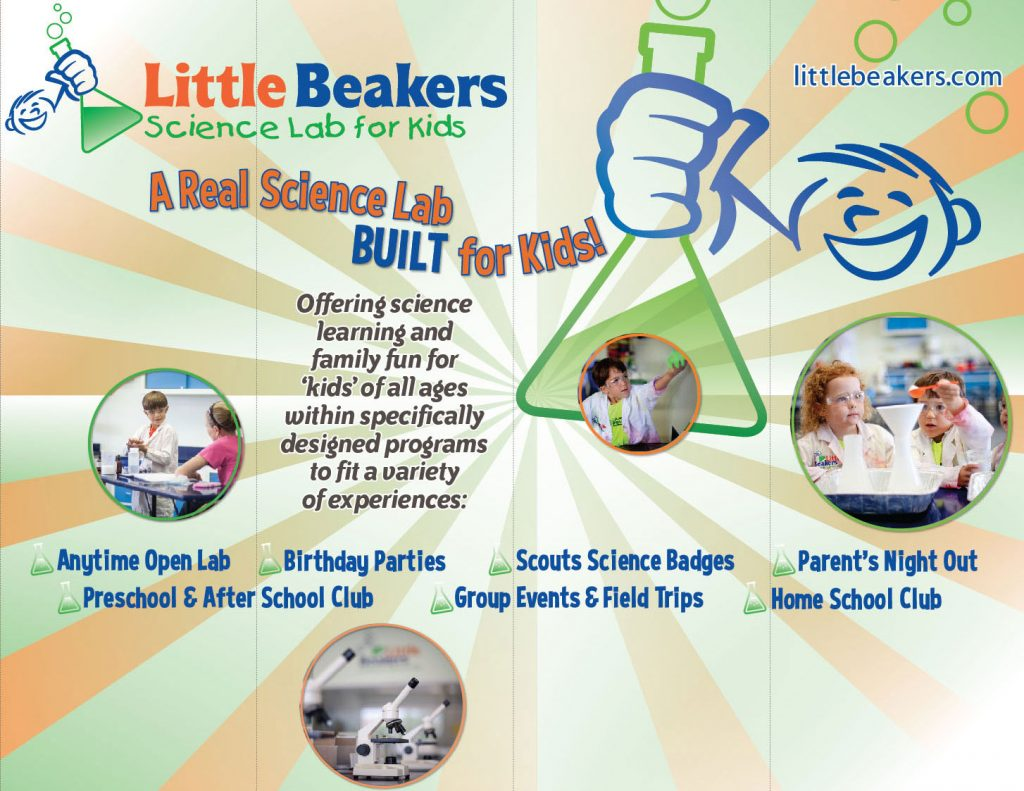 Little Beakers 10ft Display