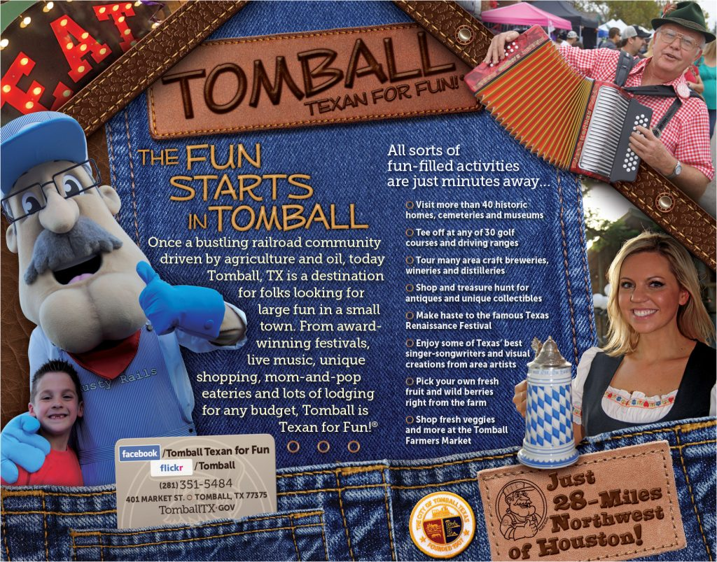 Theme Design for Tomball TX Ad Campaign